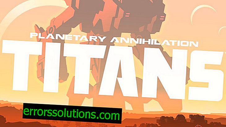 게임 Planetary Annihilation : TITANS에서 오류, 버그, 정지 문제를 해결하는 방법