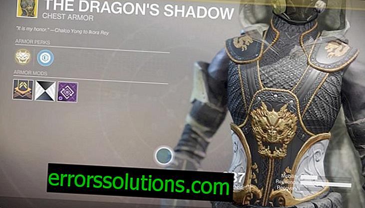 Hvordan få Dragon's Shadow rustning i Destiny 2?